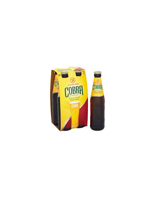 330ml Gluten Free Cobra Beer