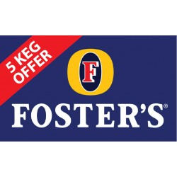 Fosters 11 Gallon Kegs