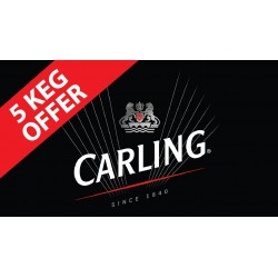 Carling  11 Gallon Kegs