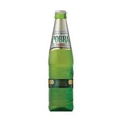 330ml Cobra Zero Alcohol Free Extra Smooth Premium Lager