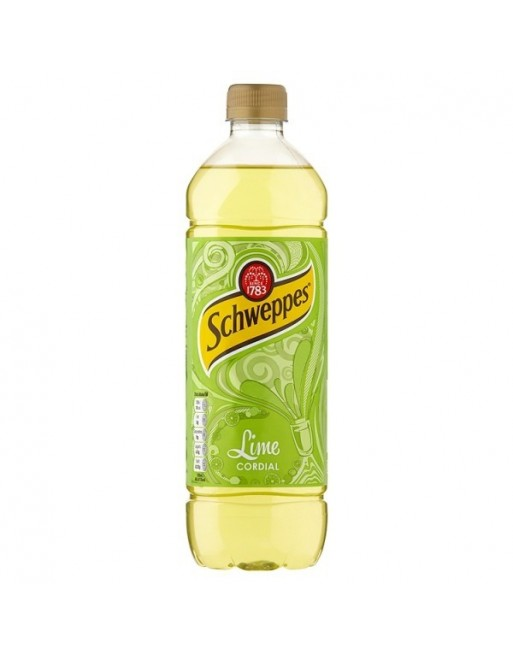 Lime Cordial 1Ltr (Schweppes)