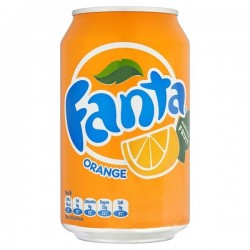 330ml Fanta Orange Cans