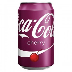 Cherry Coke Cans - 330ml