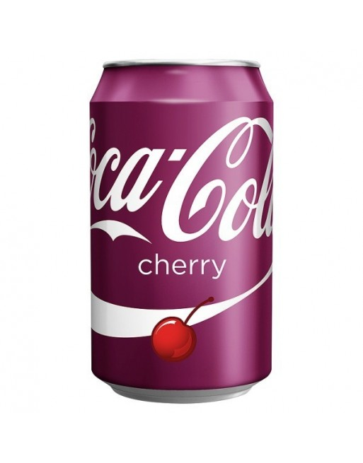 Cherry Coke Cans 330ml