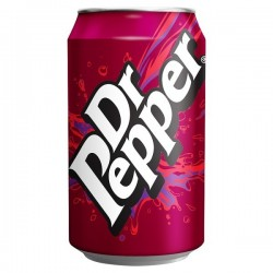 330ml Dr Pepper Cans