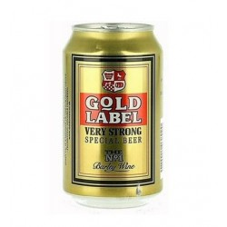 330ml Gold Label Cans